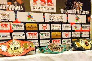 Titel Kampf WBC / LBF Inna Sagaydakovskaya VS. Jennifer Retzke in Kasachstan Almaty